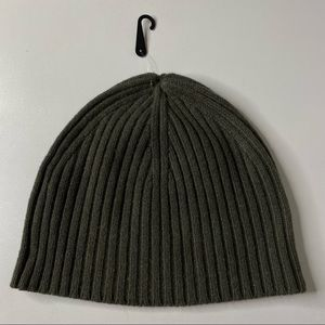 NAKEDCASHMERE 100% Cashmere Charlie Ribbed Knit Beanie